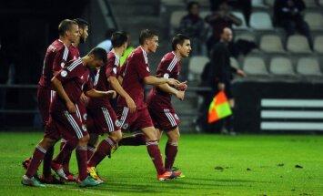 Экспериментальная сборная Латвии порадовала катарских шейхов