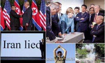 Foto: aizvadīto mēnešu spilgtākie mirkļi pasaules politikā