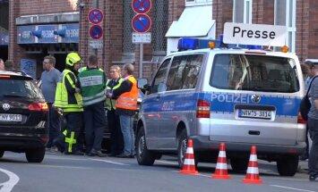 Vācijas policijai trūkst pavedienu par iespējamo motīvu Minsteres uzbrukumā