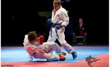 Калныньш — бронзовый призер этапа премьер-лиги по каратэ