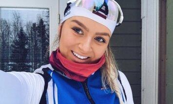 На ногах - лыжи, за спиной - винтовка: история биатлонистки Аннии