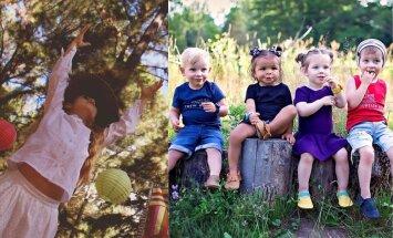 Foto: Radošas idejas vasarīgām bērnu bildēm