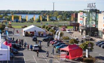 Sestdien pie 'Mols' notiks jaunāko auto testi un bezmaksas drošas braukšanas semināri