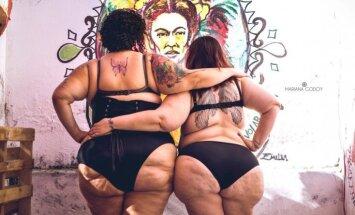 Resns ir skaists: Piecu drosmīgu sieviešu kailfoto