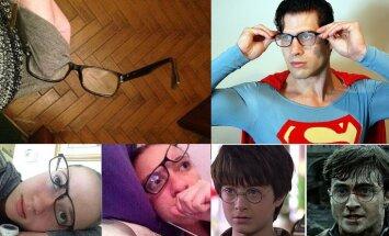 15 до боли банальных ситуаций, которые вызывают нервный тик у каждого, кто носит очки