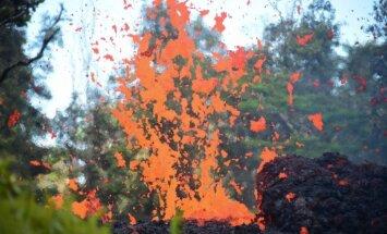 Foto: Havajās atmodušies vulkāni