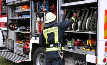 Jaunpilī ugunsgrēkā gājuši bojā divi cilvēki