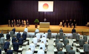 Japāna atbalsta ASV lēmumu izdarīt lielāku spiedienu uz Ziemeļkoreju