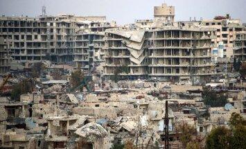 ES pieprasīs Krievijai un Asadam pārtraukt uzbrukumus opozīcijas kaujiniekiem
