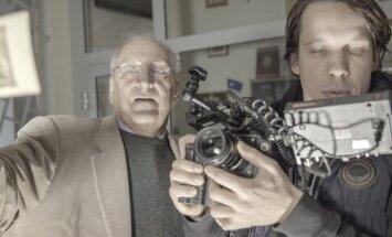 Foto: Pabeigts filmas 'Zigfrīds Meierovics. Filma, kuras nebija' otrais filmēšanas posms