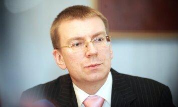 Rinkēvičs: Baltijas valstu konkurence enerģētikā sāk apdraudēt nacionālo drošību