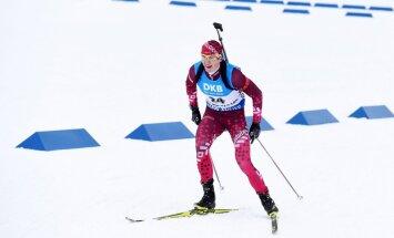 Латвийский биатлонист завоевал медаль в гонке преследования на чемпионате Европы