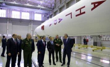 Krievija atliek jaunās paaudzes raķetes izmēģinājumu