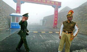 Ķīna Indijai desmit gadu laikā atņēmusi zemi Madonas novada platībā