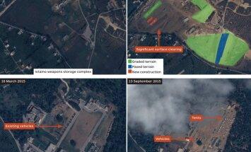 Eksperti: Sīrijā, iespējams, tiek gatavoti divi jauni objekti Krievijas spēkiem