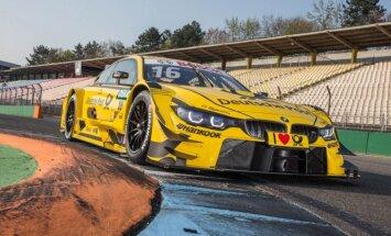 BMW parādījis savu jauno bolīdu DTM sacensībām