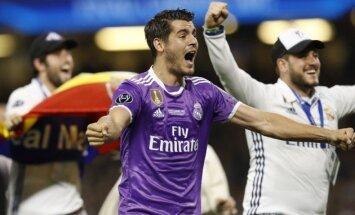 'Chelsea' par 80 miljoniem eiro iegādāsies 'Real' uzbrucēju Moratu