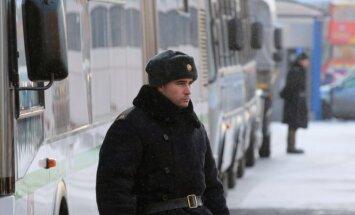 Maskavas centrā izvieto policistus, gatavojoties nesankcionētam opozīcijas gājienam