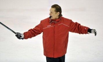 No Latvijas hokeja izlases atskaitīti četri hokejisti