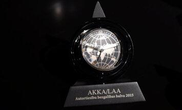 Nosaukti 2016. gada 'Autortiesību bezgalības balvas' laureāti