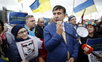 Saakašvili atkāpjas no Odesas apgabala gubernatora krēsla
