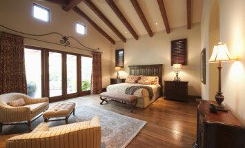 Foto saldākam miegam: burvīgas guļamistabas dažādos pasaules nostūros