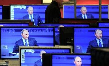Austrumukrainā pārtraukta nesankcionētā Krievijas telekanālu translācija