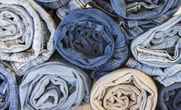 Video meistarklase: veco džinsu pārvērtības dekoratīvā paklājā