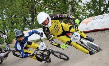 Treimanis izcīna uzvaru 'SMScredit.lv' BMX čempionāta Jelgavas posmā