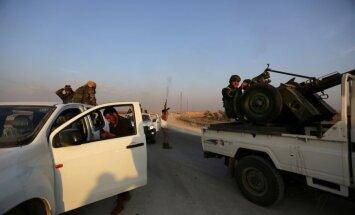 Sīrijas nemiernieki paziņo par miera sarunu boikotēšanu