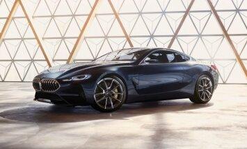 BMW oficiāli prezentējis jaunās 8. sērijas kupejas prototipu