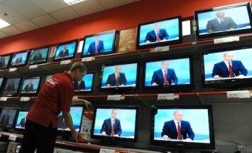 Kremļa telekanāli Porošenko paziņojumam par Krievijas iebrukumu atvēl dažas sekundes