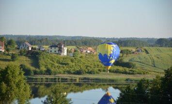 Jūlija beigās Saldus pusē varēs vērot krāšņus gaisa balonu lidojumus