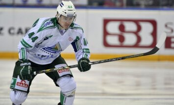 Kulda un 'Jokerit' KHL spēlē uzvar nākamo Rīgas 'Dinamo' pretinieku