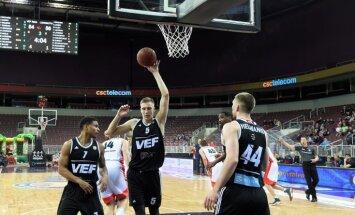 'VEF Rīga' neizdodas 'aizķerties' spēlē pret Maskavas CSKA