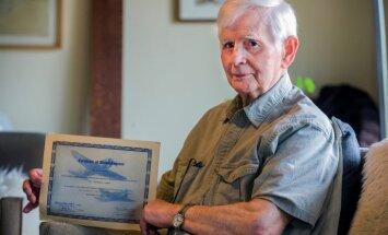 Kāds vīrietis ASV bakalaura grādu saņem 75 gadus pēc iestāšanās universitātē