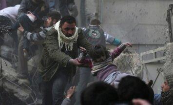 Krievija iebilst pret ANO rezolūciju par humānajām problēmām Sīrijā