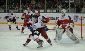 Latvijas hokeja izlase gatavošanos Soču Olimpiādei sāk ar uzvaru