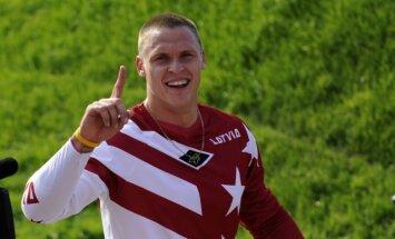 Štrombergs un Treimanis pārstāvēs Latviju Riodežaneiro Olimpiādes BMX sacensībās