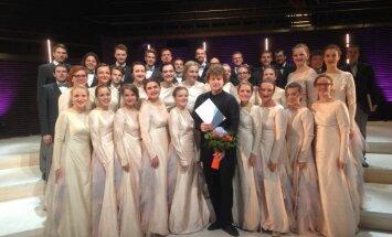 Jauniešu koris 'Kamēr...' triumfē V Starptautiskajā Haralda Andersena kamerkoru konkursā