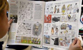Čečenijā vēlas aizliegt piekļuvi internetā publicētajām 'Charlie Hebdo' karikatūrām
