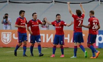 Cauņas pārstāvētā CSKA Maskavas derbijā uzveic 'Spartak' futbolistus