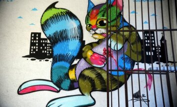 Konkurss: Iemūžini Latvijas ielu mākslu – grafiti un sūti 'Delfi Aculieciniekam'