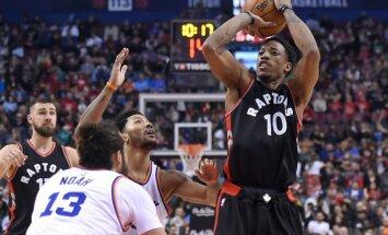 'Knicks' bez Porziņģa tiek pie sezonas antirekordiem un smagi zaudē 'Raptors'