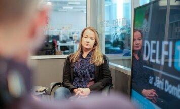 Latvijas Radio valdes priekšsēdētājas Klapkalnes ienākumi pērn – 76 800 eiro
