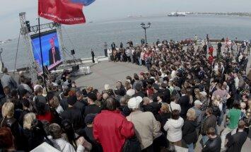 """17 апреля. Запугивание Латвии, """"марафон"""" Путина и обрушение в Золитуде"""