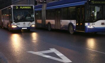 'Rīgas satiksme' pērn pārvadājusi par 0,5% mazāk pasažieru