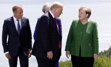 ES un Tramps apmainās savstarpējiem pārmetumiem saistībā ar aizsardzības izdevumiem