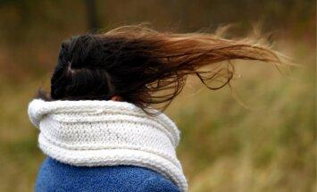 Во вторник и среду Латвию ожидает сильный порывистый ветер