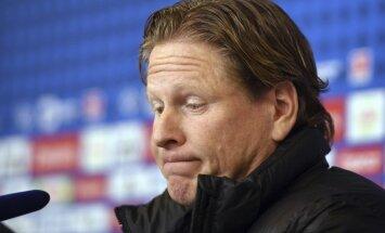 HSV atbrīvo no amata galveno treneri Gisdolu